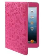 Бархатный кейс iPad Air розовый