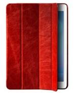 Кожаный кейс iPad Air красный