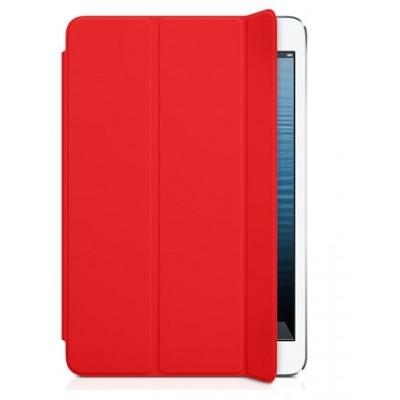 Кожаный кейс iPad Mini красный