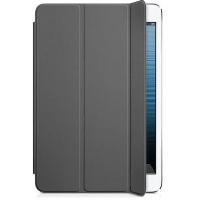 Кожаный кейс iPad Mini темно-серый