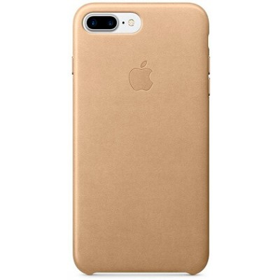 Apple Leather Case Gold