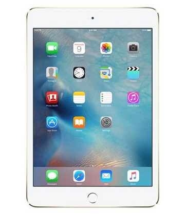 Apple iPad mini 4 Wi-Fi 32 Gb Gold