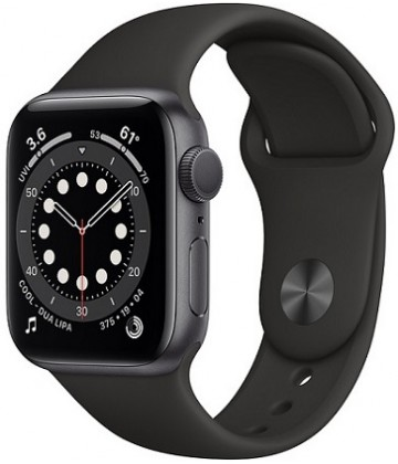 Apple Watch Series 6 40mm Space Gray-Black