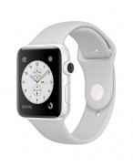 Apple Watch Edition 42 mm white ceramic/sport white cloud