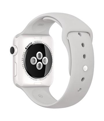 Apple Watch Edition 42 mm white ceramic-sport white cloud