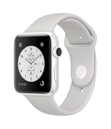 Apple Watch Edition 42 mm white ceramic-sport white cloud