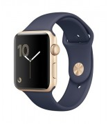 Apple Watch 42 mm gold-sport midnigth blue
