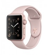 Apple Watch 42 mm rose gold-sport pink
