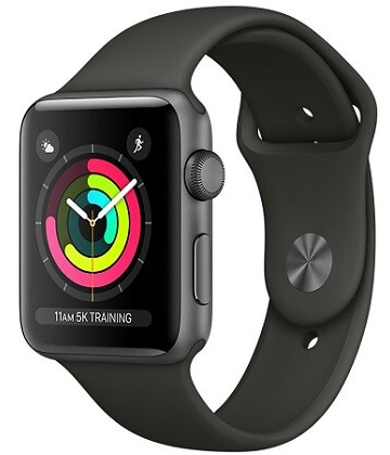 Apple Watch Series 3 38mm Space Gray-Gray