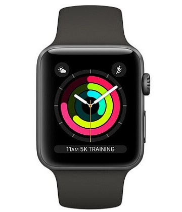 Apple Watch Series 3 42mm Space Gray-Gray