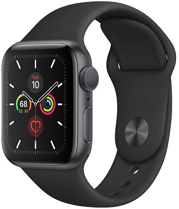 Apple Watch Series 5 40mm Space Gray Black